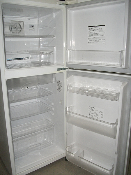 無印良品の冷蔵庫(M-R14D)